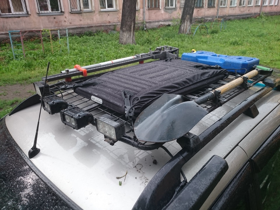 Багажник на шевроле-ниву