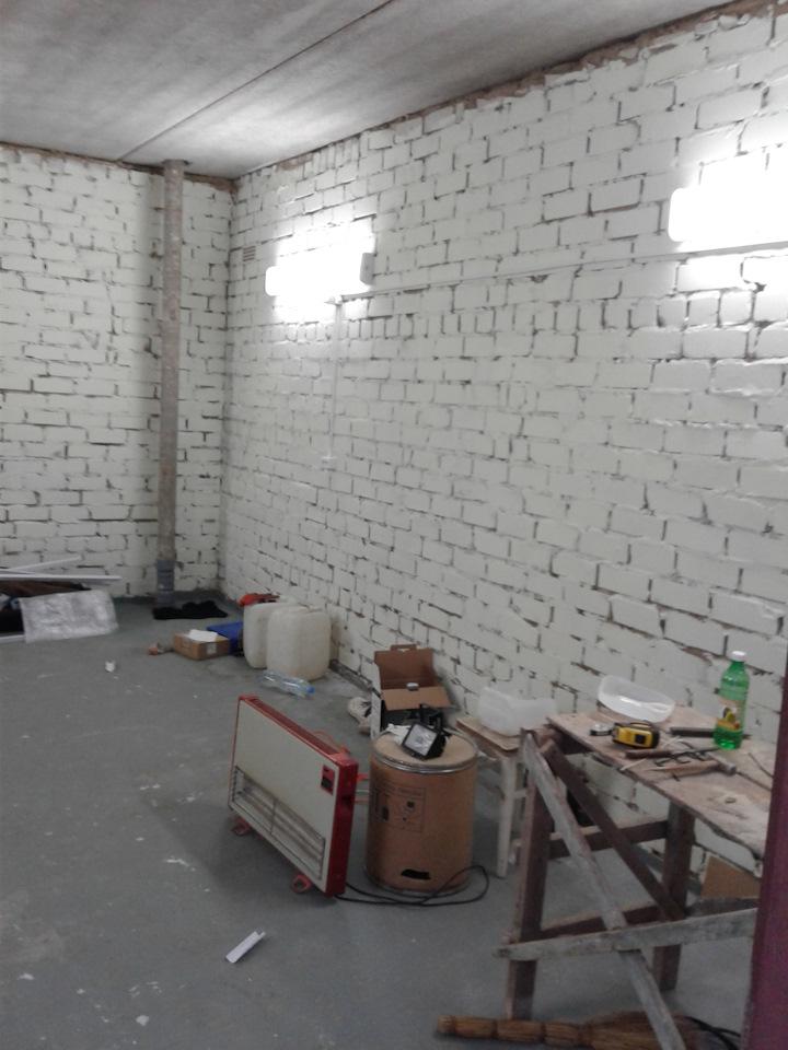 Светодиодные лампы для гаража купить железный гараж перенести на плиты