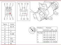 27bbafes 240 - Устройство замка зажигания ваз 2110