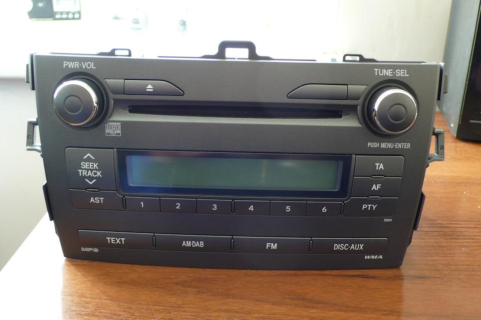 магнитола Toyota Королла 150
