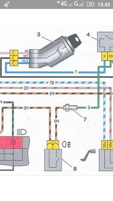 349c6bes 240 - Схема электрооборудования ваз 2109 карбюратор низкая панель
