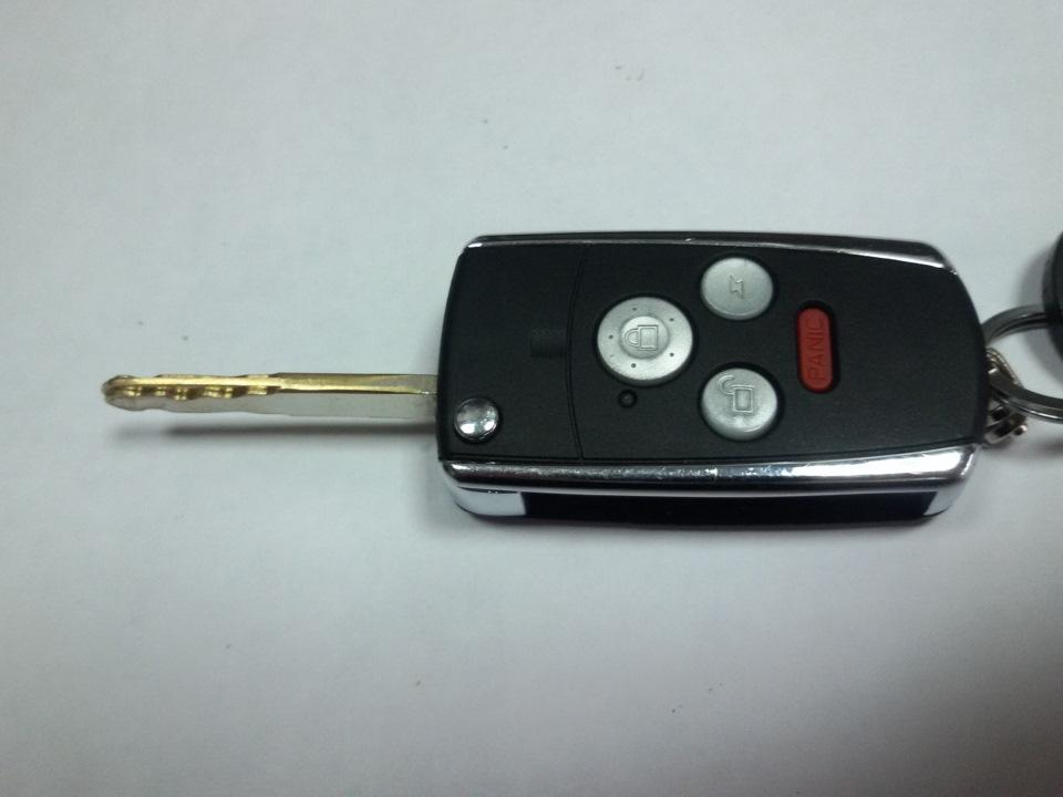 привязать ключ на honda accord 2006