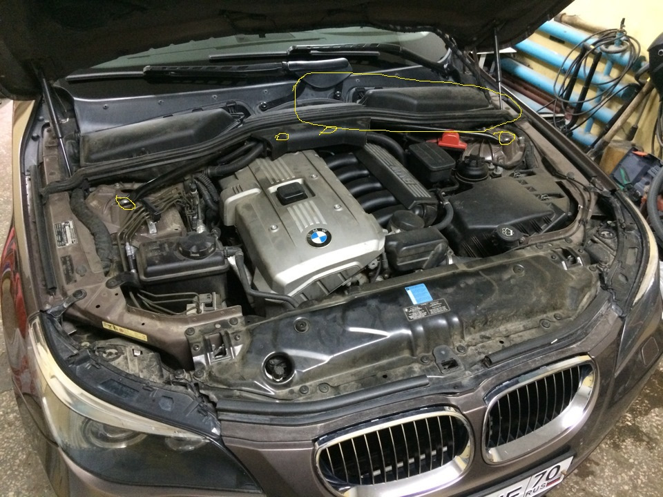 Fault in drive — BMW 5 series, 2 5 л , 2007 года на DRIVE2