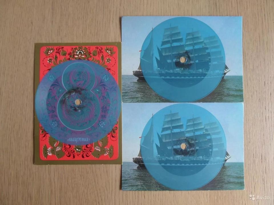 Картинки, музыкальная открытка пластинка