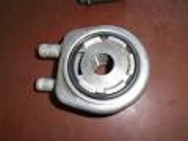 Теплообменник под масляным фильтром комплект прокладок теплообменника a14net