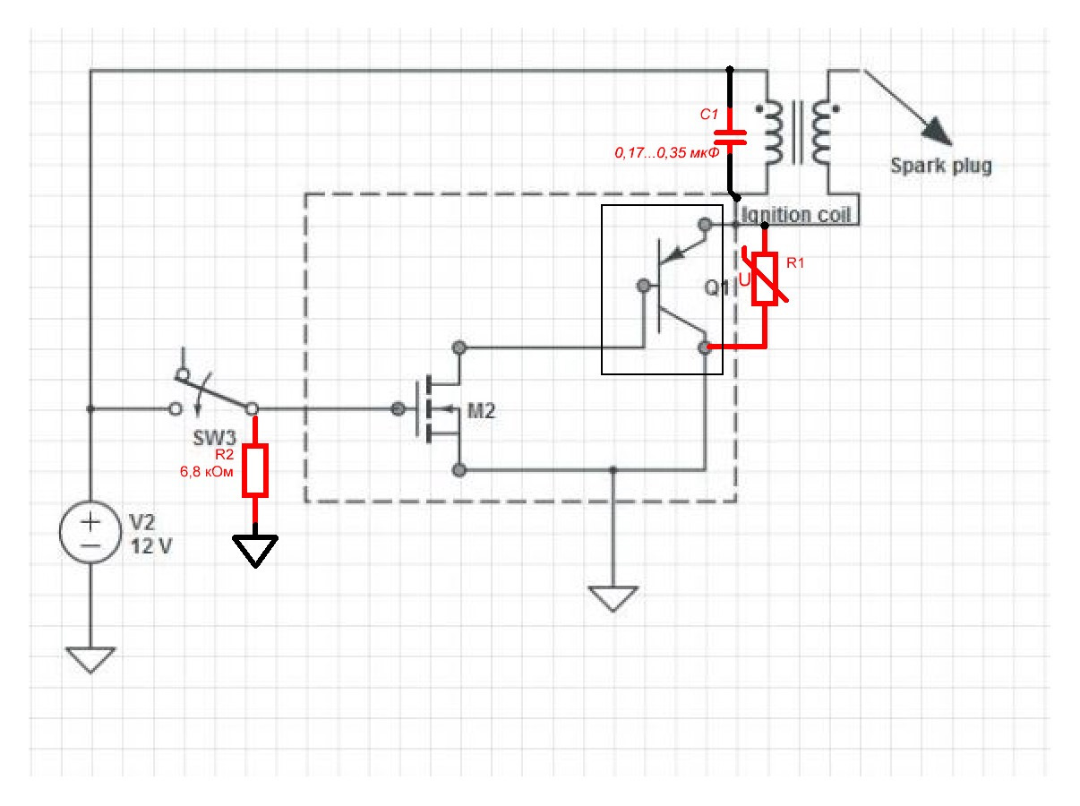 Электроудочка своими руками из катушки зажигания схема подключения фото 305