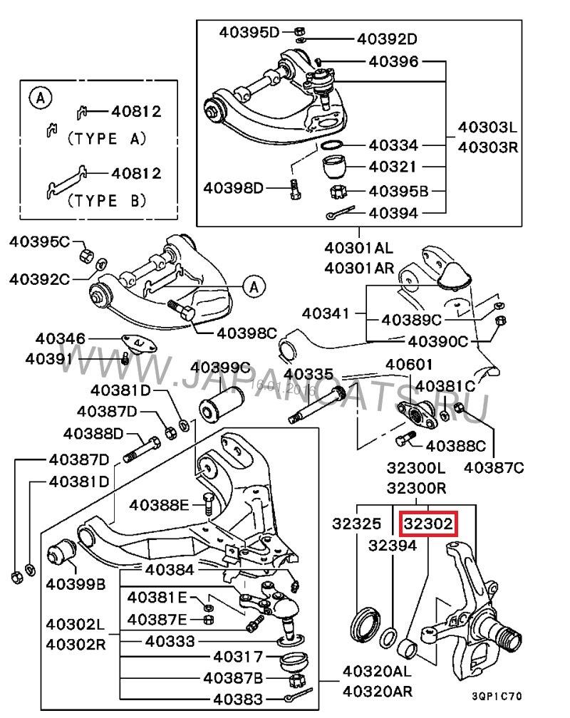 схема устройства ступицы передней ман