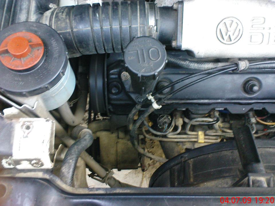 датчик температуры двигателя на фольксваген транспортер т4