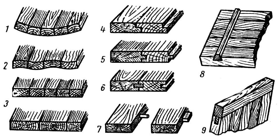 Как срастить мебельный щит своими руками 78