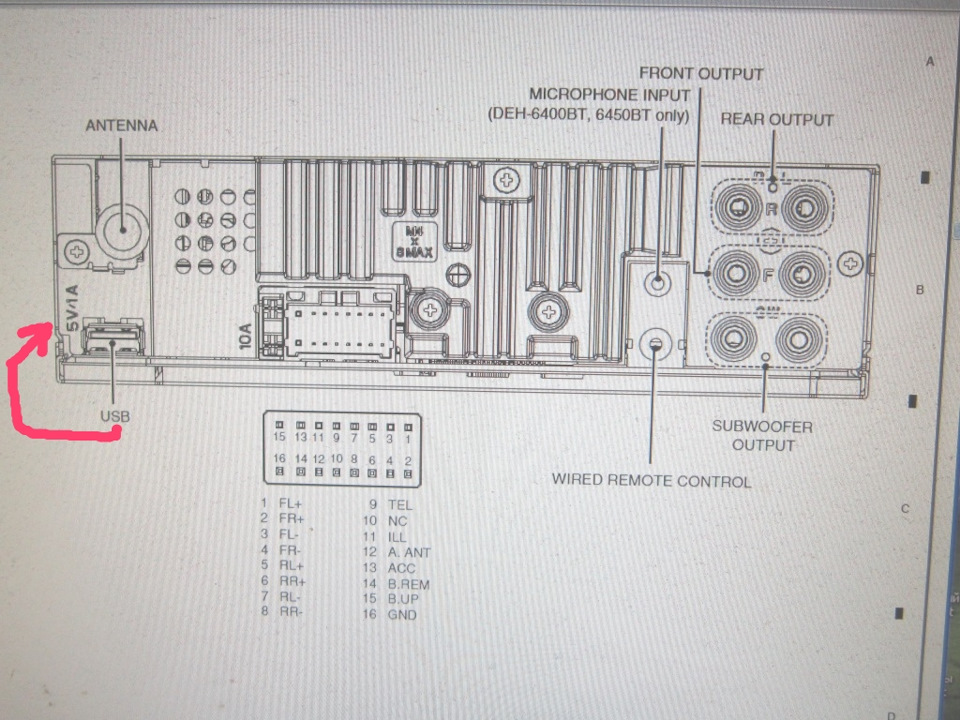 60ef6f9s 960 error 19 ��������� pioneer ���������� ���� ������ pioneer deh x1710ub wiring diagram at n-0.co