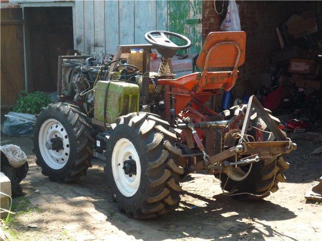 как сделать своими руками полноприводной мини трактор