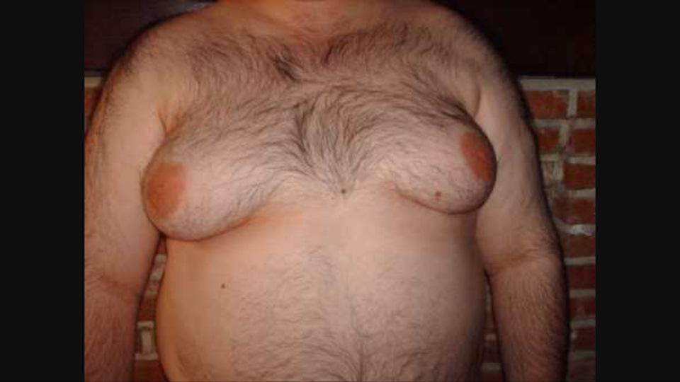 Фото мужик с сиськами