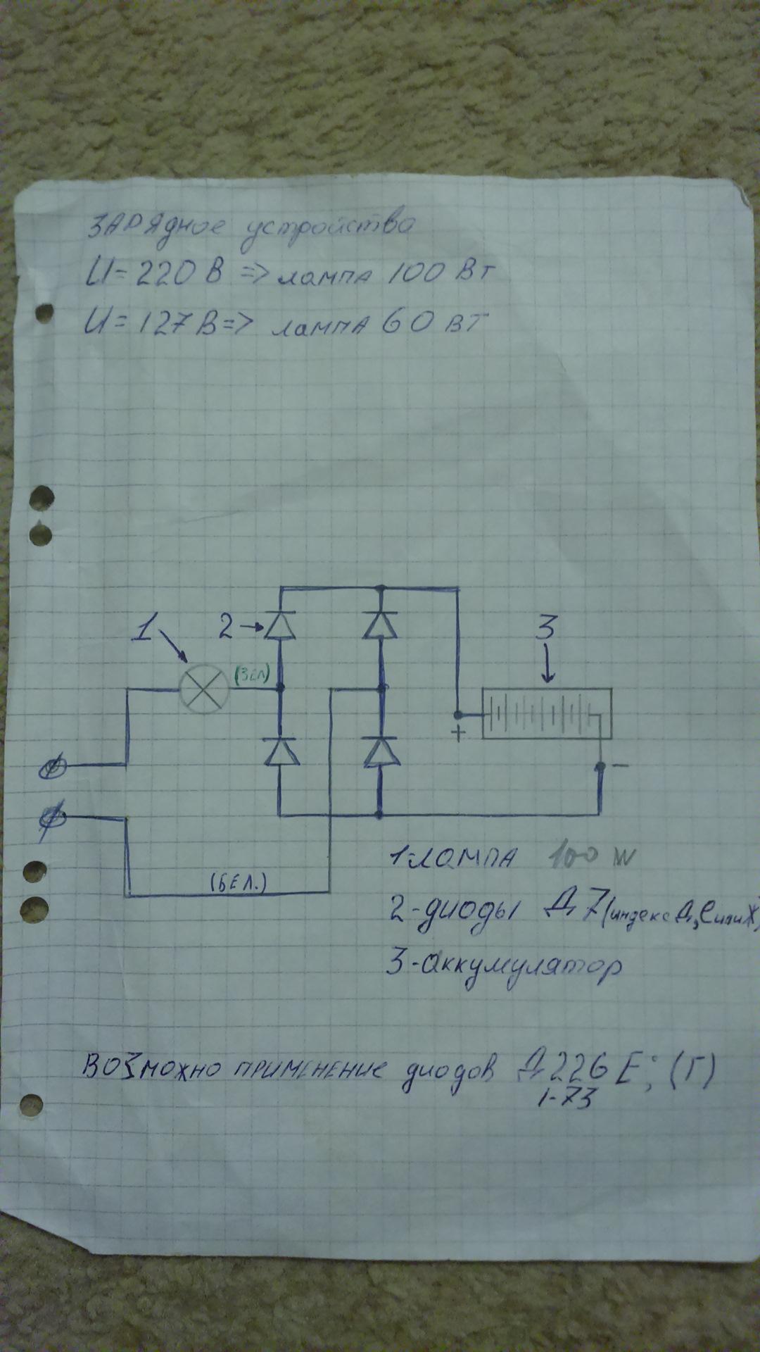 Инструкция на зарядное устройство ву-71м