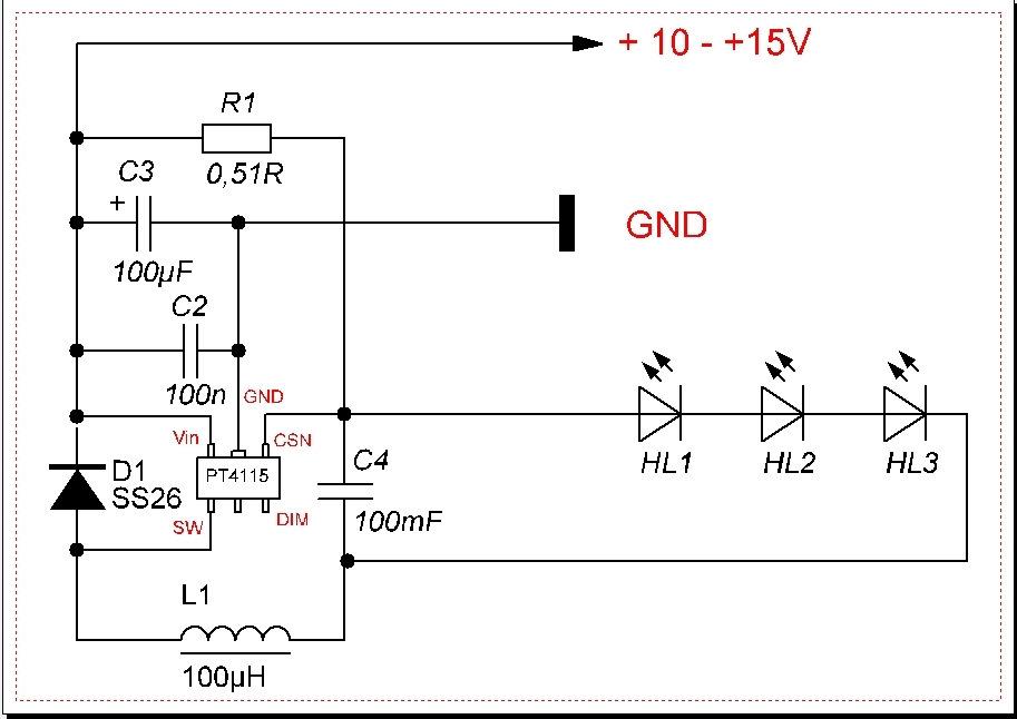 Cl1501 схема включения