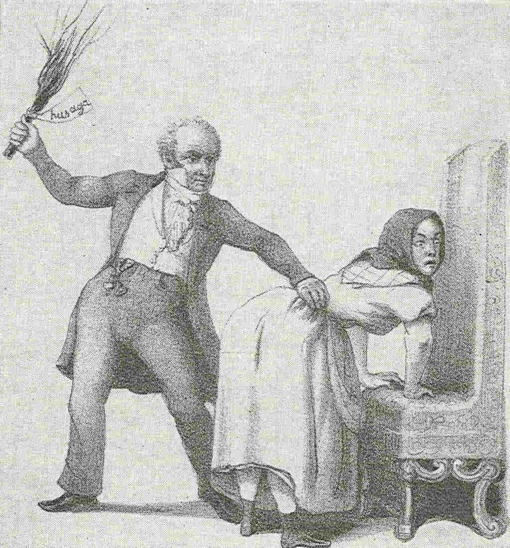 Наказание девушек в картинках