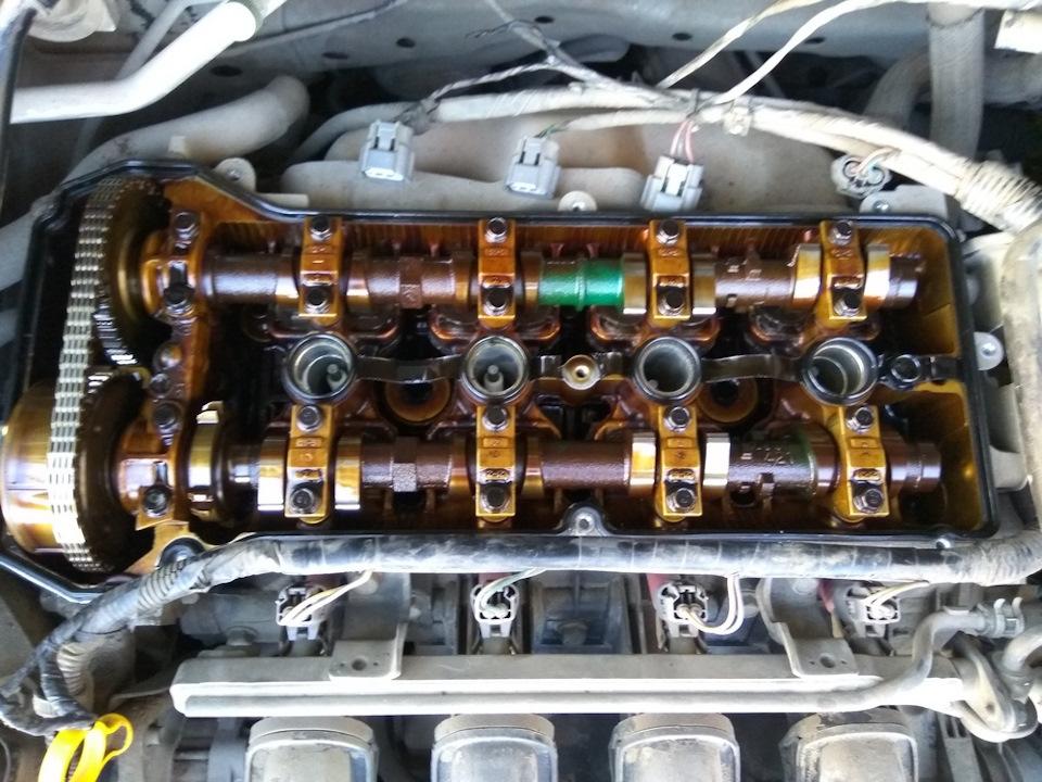 mazda demio 2007 двигатель 1.3 как натягивается цепь газораспределения