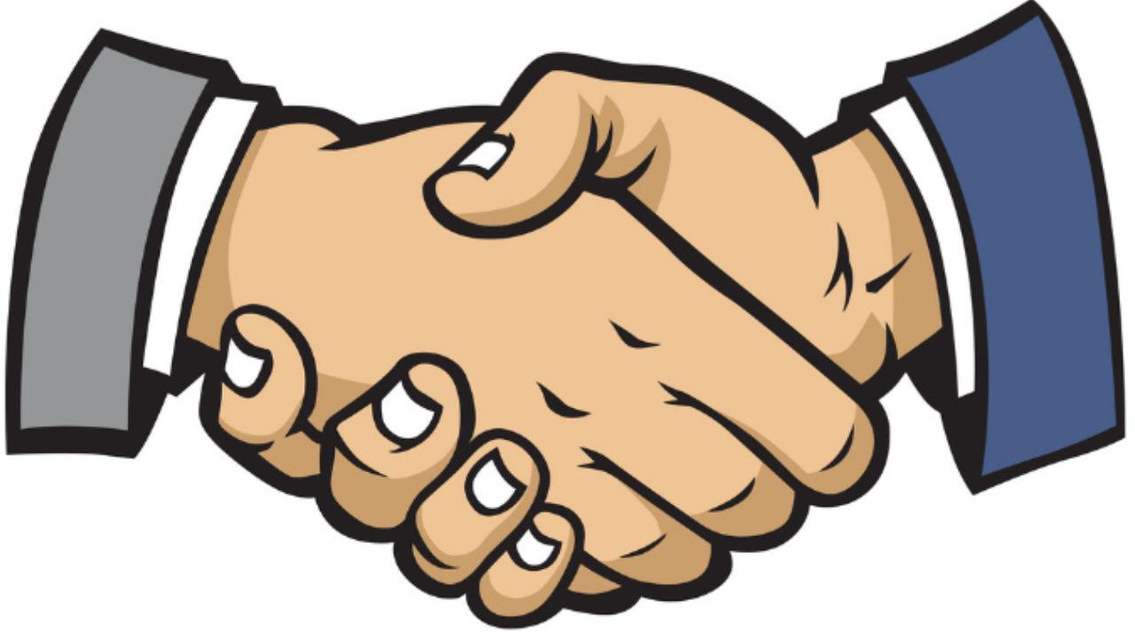 Прикольные рукопожатия в картинках