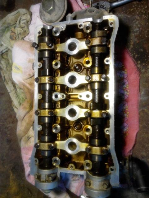 Замена клапанов нексия 16 клапанов