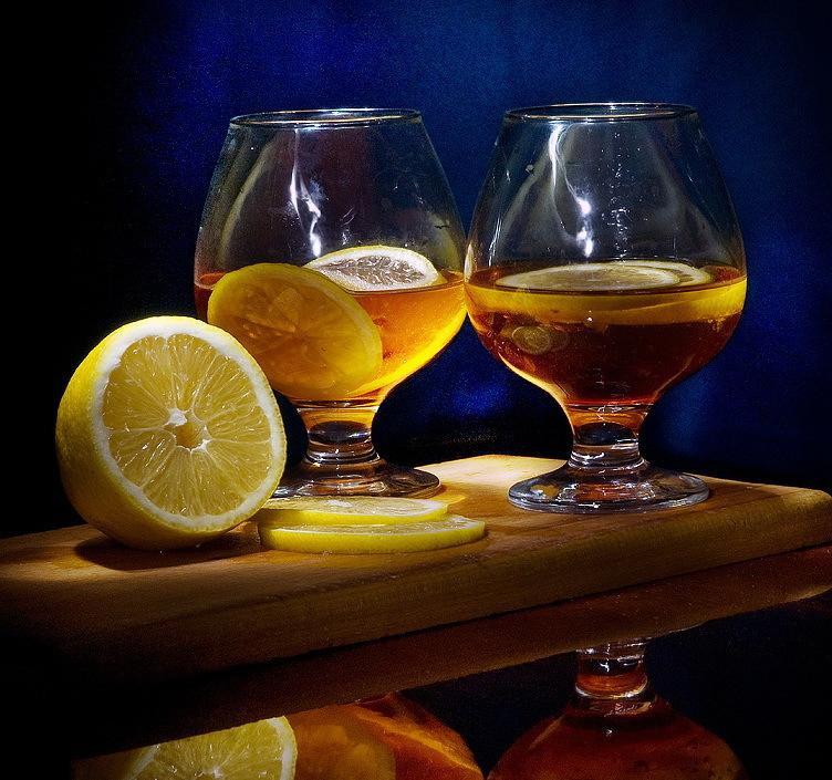 продукция фото коньяка с лимоном всеми