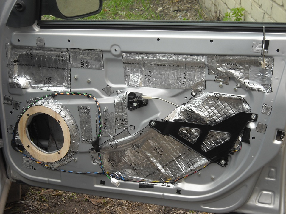 Автомобиля для сколько материала шумоизоляции
